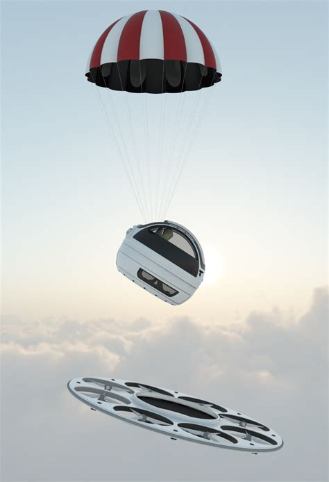 designboom jet capsule jet capsule identified flying object i f o is a two