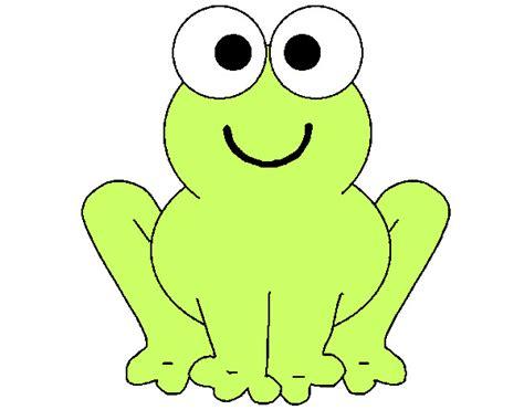imagenes de ranas bonitas para dibujar dibujo de rana sonriente pintado por ranaken en dibujos
