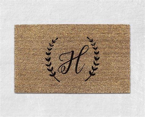 Initial Doormats - best 25 monogram doormat ideas on diy