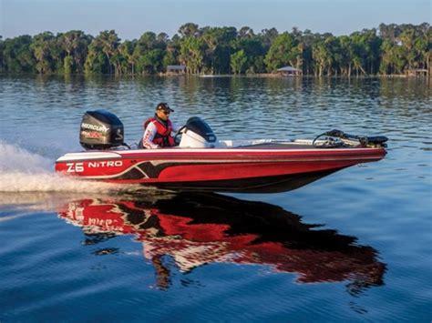 nitro bass boat rigging nitro z series z 6 boats for sale