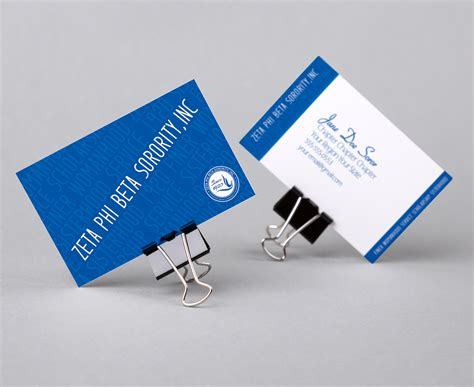 zeta phi beta colors zeta phi beta principles business card color me finer