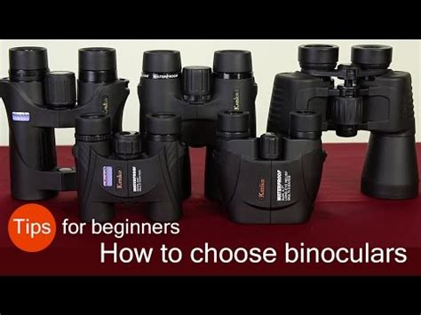 how to choose binoculars tips for beginners youtube