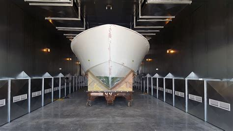 hinckley yachts in trenton me hinckley yachts new curing oven w h demmons