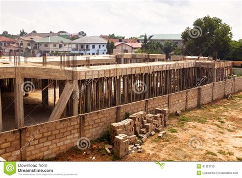 urban housing development housing development in ghana stock photo image 41353735