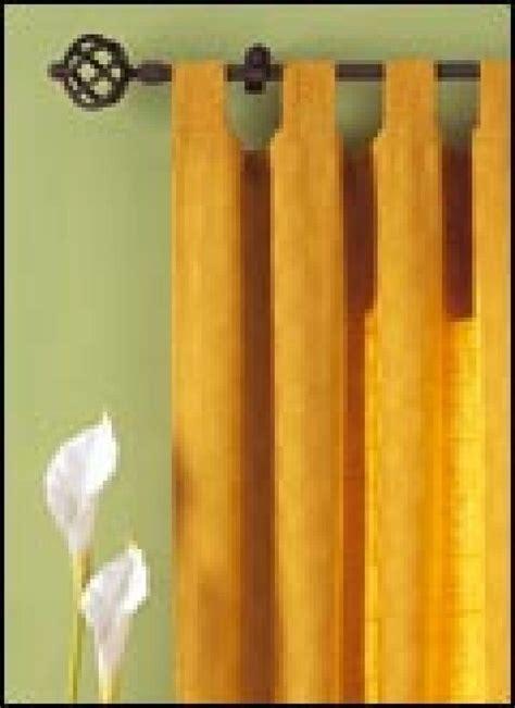 barras para colgar cortinas colocar barras y rieles para cortinas bricolaje
