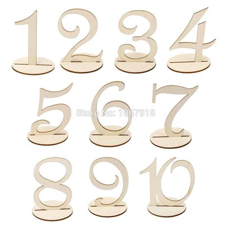 wooden table numbers 1 25 popular wedding table numbers buy cheap wedding table