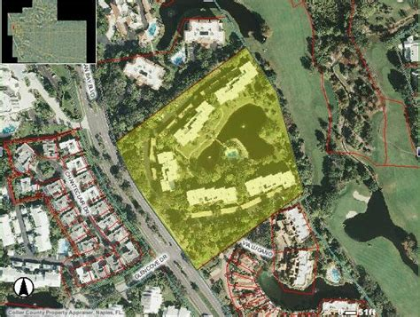 Naples Florida Property Records Aerial View Of Sanctuary At Pelican Bay Naples Fl