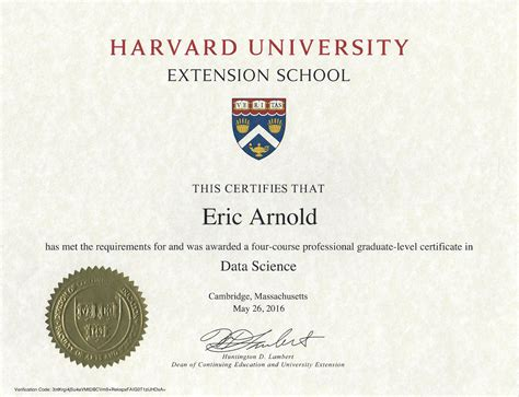 Harvard Extension Mba by Graduate Certificate In Data Analytics Docs Resume
