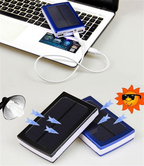 Power Bank Samsung Solar Cell 50000mah dual usb portable solar battery charger power