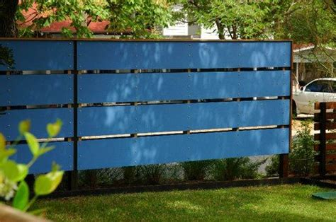blue board fence designs woodworking projects plans