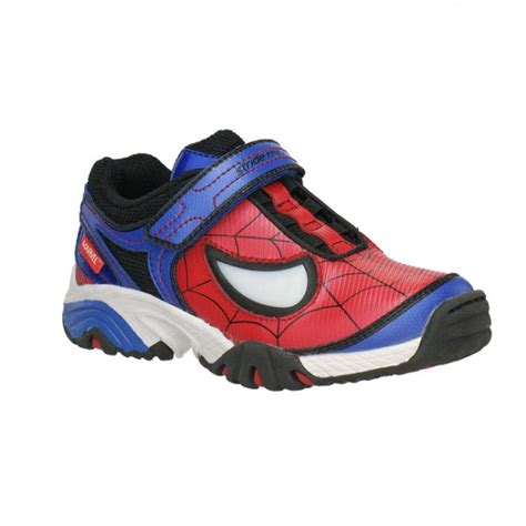 spiderman light up shoes the merch stride rite selling kids spider man shoes