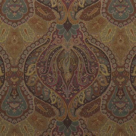 ralph lauren upholstery fabric ralph lauren fabric old brton paisley copper lcf66531f