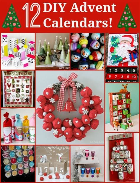 Unique Advent Calendars Advent Day 12 Unique Diy Advent Calendars