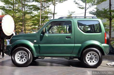 Suzuki 4x4 Price Suzuki Jimny 4x4 Prices Reduced By Rm3 400