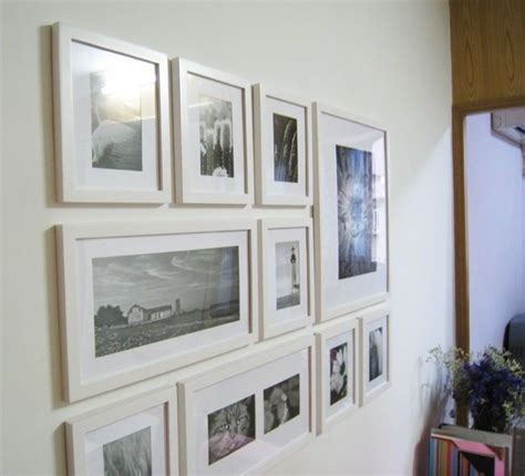 wall collage frame set wooden photo picture frame wall collage set of 10 modern white