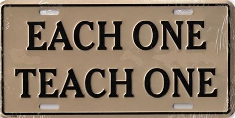 Each One Teach One License Plate   gold   $13.99 : All Things Rasta, Wholesale and Retail