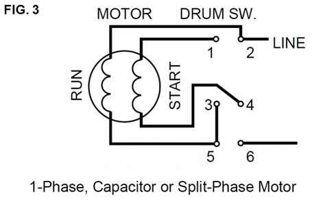 3 phase motor winding diagrams color code 3 get free