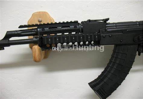 aim sports ak 47 rail side mount tactical ak47 rail system picatinny weaver rail