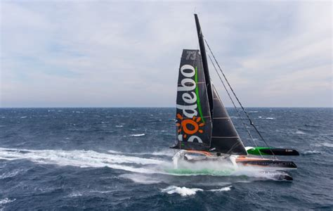 trimaran around the world thomas coville sets incredible new 49 day solo round the
