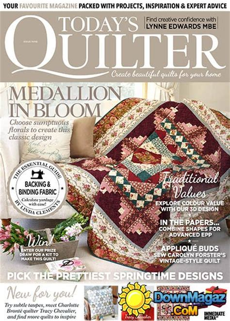 todays quilter issue     magazines