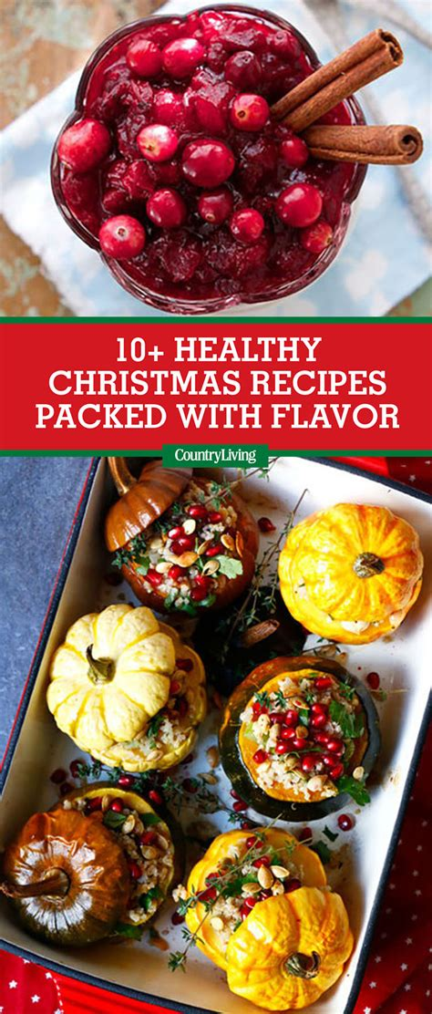 10 healthy christmas food recipes best healthy holiday