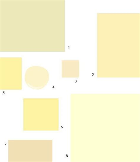 8 pale buttercream paint colors designers palette ralph behr and colors