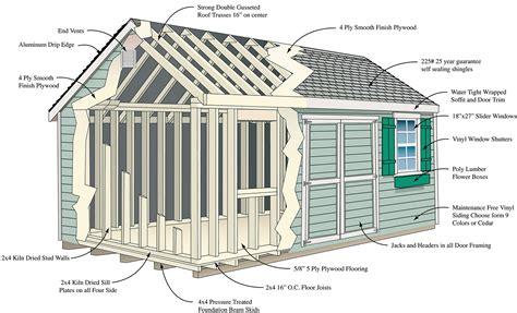 craft sheds shed options cedar craft storage solutions