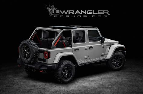New Jeep For 2018 by 2018 Jeep Wrangler Unlimited Previewed In Unofficial