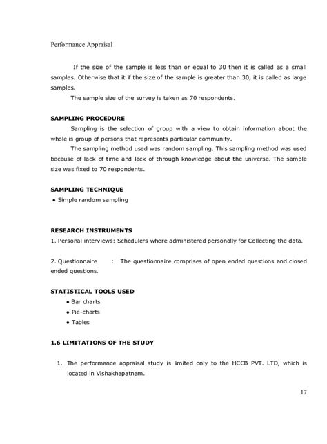 research paper on performance appraisal sle of a research paper on performance