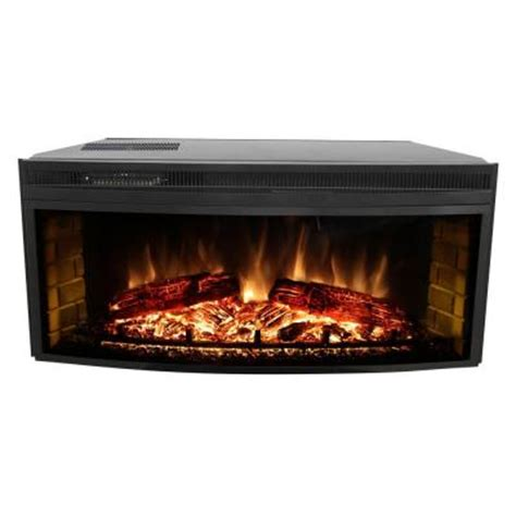 muskoka 43 in curved electric fireplace insert mfb42wsc