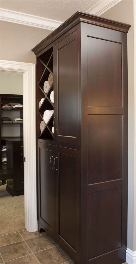 123 Best Images About Baths Laundry On Pinterest Linen Linen Cabinet With Laundry