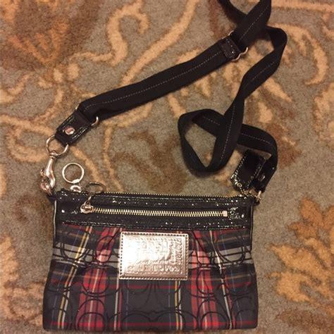 Plaid Crossbody Bag 52 coach handbags coach poppy plaid crossbody bag