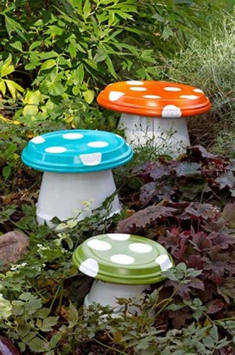 garden craft ideas 26 budget friendly and garden projects made with clay
