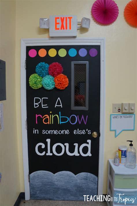 school door decorating teaching in the tropics classroom tour 2016 2017