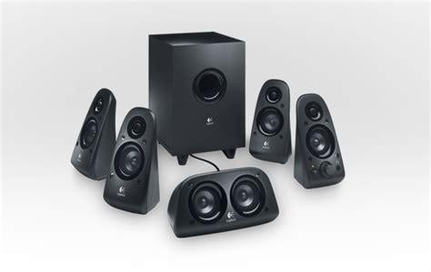 logitech surround sound speakers  delivers
