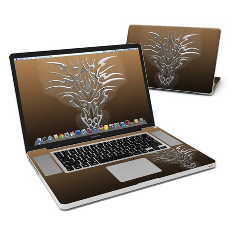 Chromes Crush Proof For Mac Laptops by Macbook Pro 17in Skin Tribal Chrome By Gaming