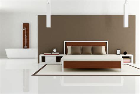 badezimmer im schlafzimmer trend kombination aus schlaf und badezimmer