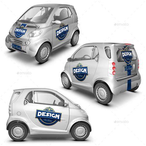 smart car mock up by logic design graphicriver
