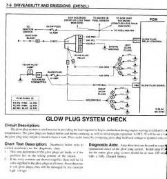 95 gmc glow plug relay wiring diagram 95 get free image
