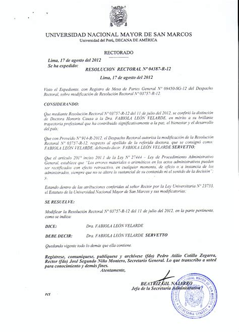 Resolucion De Intendencia Nacional N | resoluciones portal de transparencia universitaria