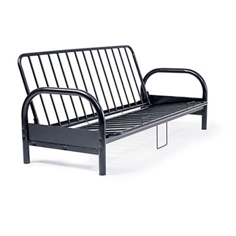 futon metal frame black metal futon frame big lots