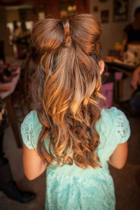 hairstyles for school bow 32 best images about little girls hairstyles on pinterest