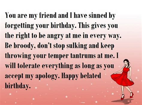 Belated Birthday Quotes For Friend 31 Happy Belated Birthday Wishes With Images My Happy