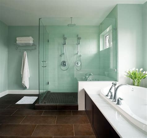 contemporary bathroom ideas on a budget i like this color maybe with a pearl glaze seafoam