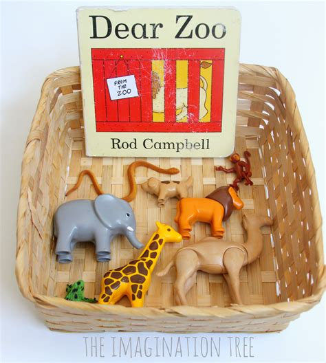 dear baby stories books dear zoo storytelling basket for toddlers the