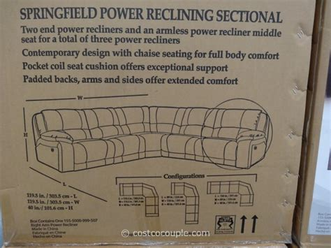 Pulaski Springfield Power Reclining Sectional by Pulaski Furniture At Costco 2013 Home Design Idea