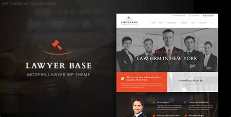Lawyer Base Lawyers Attorneys Wordpress Theme By Goodlayers Themeforest Lawyer Website Templates Free