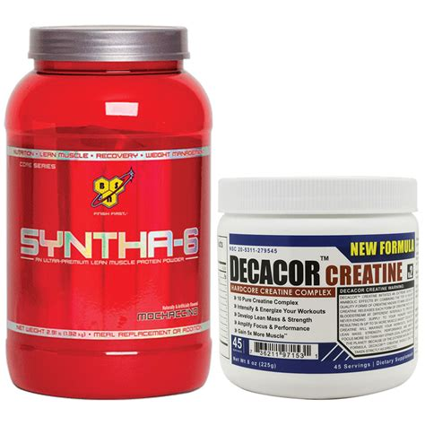 syntha 6 creatine syntha 6 mochaccino 2 91lb with decacor protein creatine