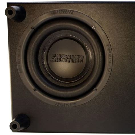 subwoofer behind couch com earthquake sound cp8 couch potato slim 8 inch