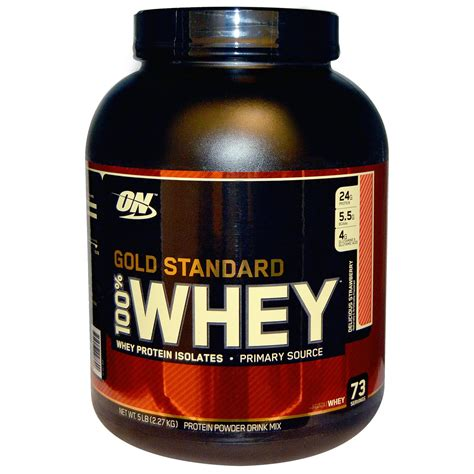 Whey Gold Standard Optimum Nutrition Gold Standard 100 Whey Delicious